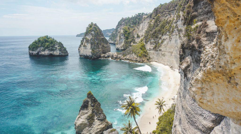 Diamond beach Nusa Penida