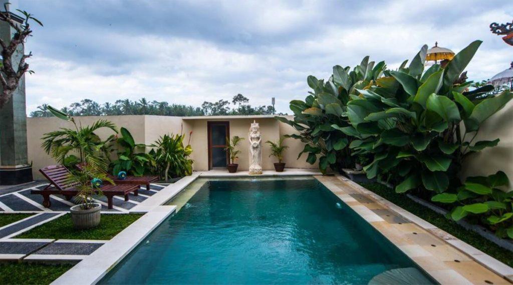 Villa 3 phòng ngủ giá rẻ hồ bơi riêng gần trung tâm Ubud