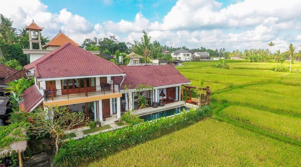 Villa 3 phòng ngủ cao cấp gần trung tâm Ubud