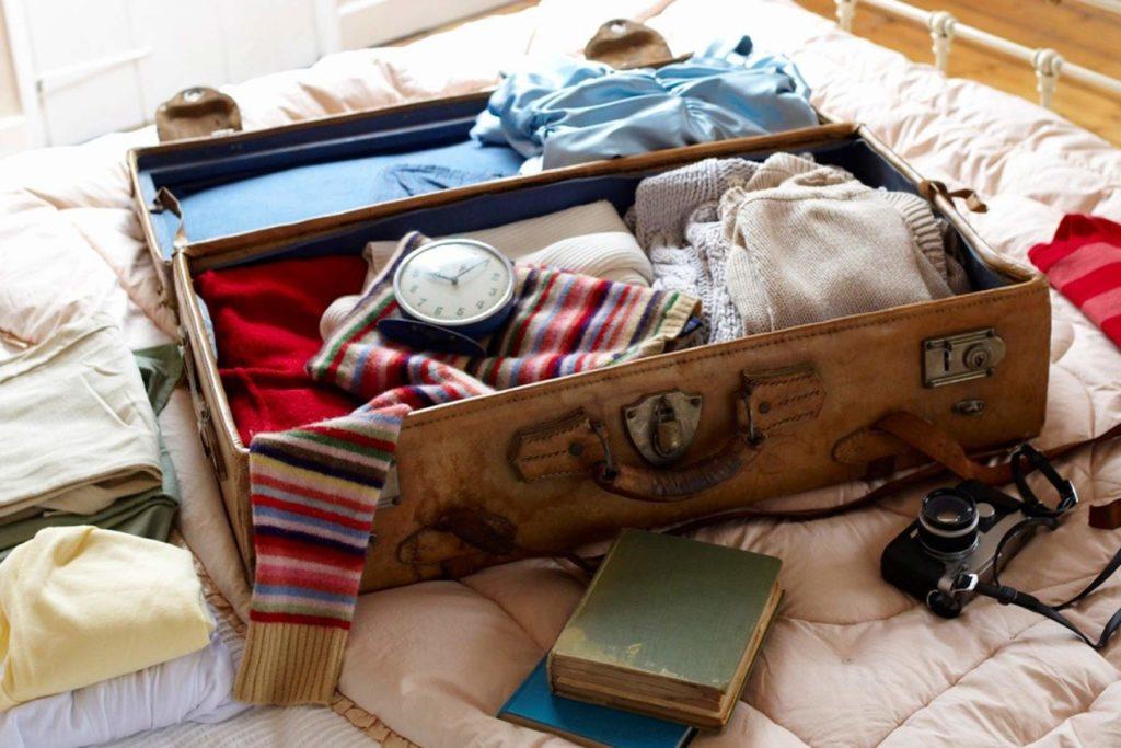 chuẩn bị hành lý