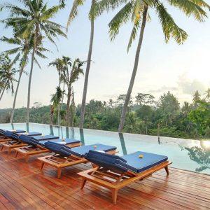 Villa resort 4 sao hồ bơi vô cực gần trung tâm Ubud